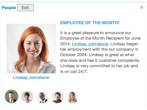 How The People Portlet Can Make Employee Recognition A