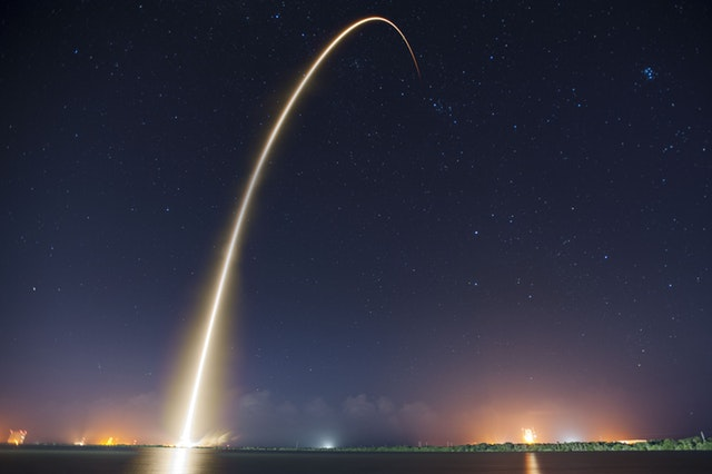 Intranet Solutions Launch Spaceship Takeoff image