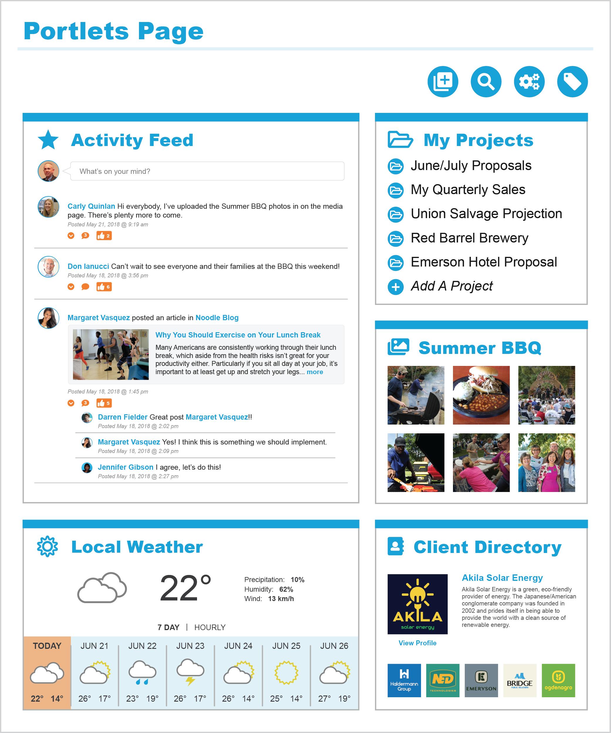 Company Portal Page
