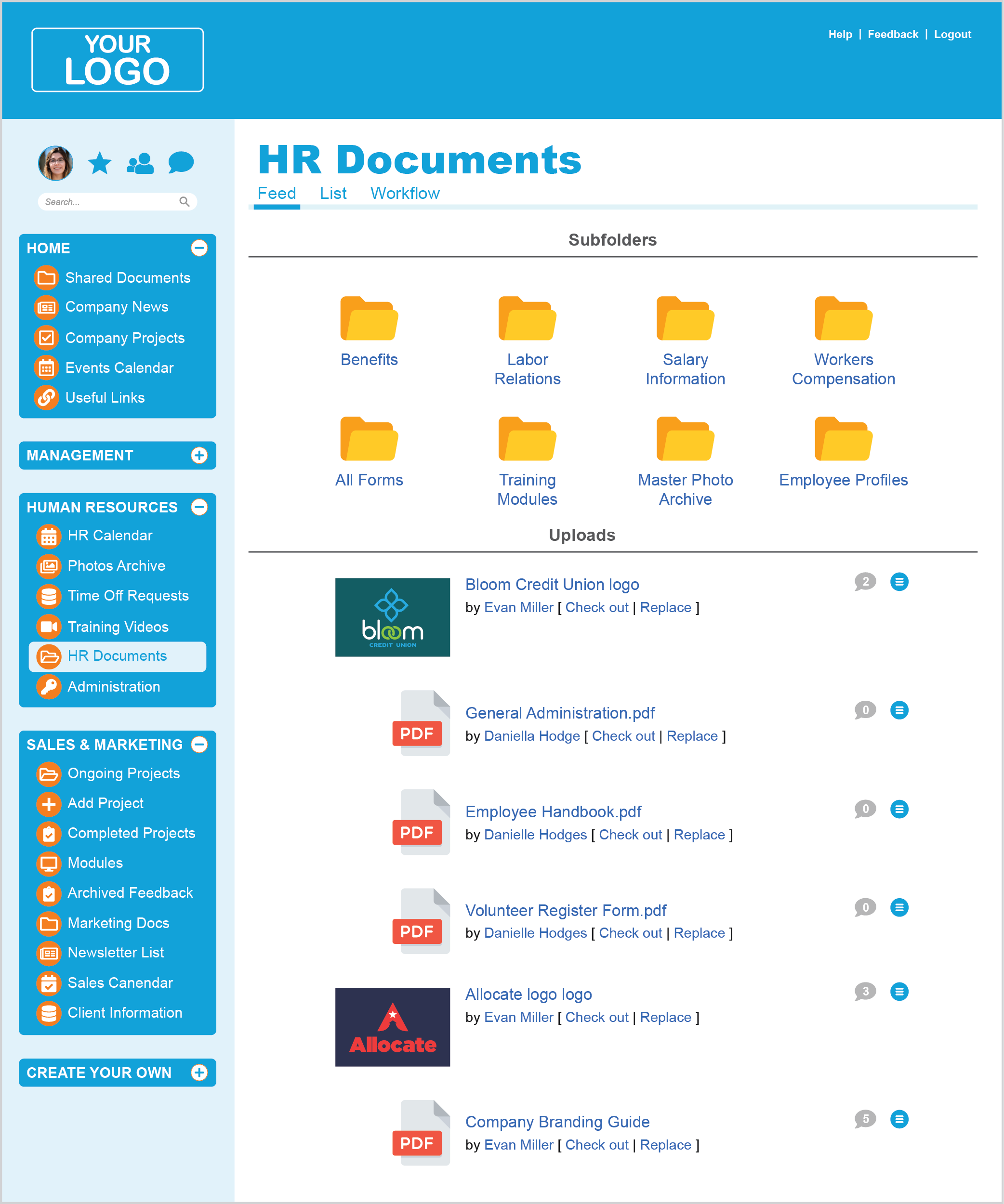 Intranet Shared Documents